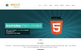 织梦HTML5网络公司网站模板
