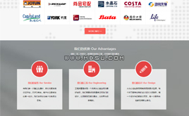 织梦 HTML5设计公司网站模板(CSS3超炫加载特效)