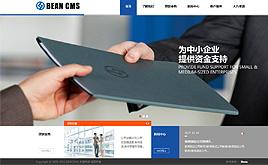 dedecms织梦金融集团科技企业集团公司网站模板