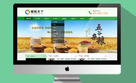 【原创】织梦dedecms绿色大气食品行业企业模板