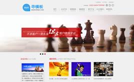 高端大气企业管理咨询公司网站织梦模板