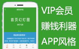 【赚钱利器】一款只需集合资源就能赚钱的手机网站APP风格模板