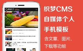 织梦DedeCMS自媒体文章手机模板(同步PC站)