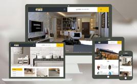 织梦响应式装饰建材设计整站企业网站模板