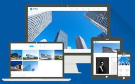 dedecms多色高端建筑装饰工程公司企业网站模板(带手机版)