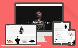 织梦响应式创意滚屏设计摄影服饰类企业模板