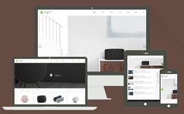 HTML5高端智能家居电子设备类织梦模板(响应式模板)
