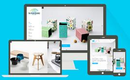 织梦HTML5高端包装设计类响应式公司网站模板