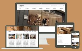 织梦简约大气装饰装修设计类响应式公司网站模板
