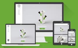 HTML5简约艺术包装设计类公司网站织梦模板(响应式模板)