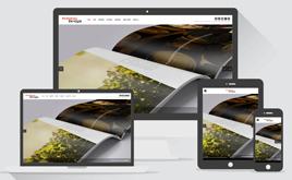 HTML5响应式产品包装设计类公司企业网站织梦模板(带背景音乐)