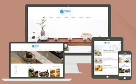 织梦cms茶叶酒水产品公司企业网站模板(自适应)