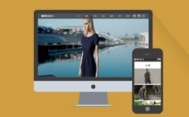 服饰服装设计展示类企业织梦模板(带手机端)