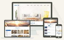 织梦响应式建筑材料家装公司企业网站模板