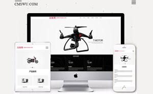 交互设计高端大气宣传型企业官网织梦模板+wap手机端同步-互创湾出品