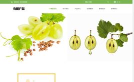 响应式绿色生物产品公司网站织梦模板[自适应]