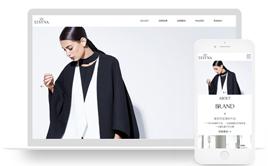 响应式服装时装设计类企业网站织梦模板