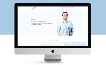 响应式产品创意设计类网站织梦模板(自适应手机端)