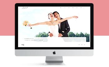 响应式婚纱照摄影工作室类网站织梦模板