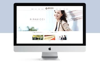 响应式女装服装连锁加盟店网站dedecms模板