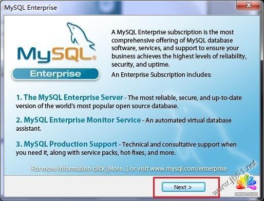 win7系统安装mysql5.5.21图解教程_mssql数据库教程